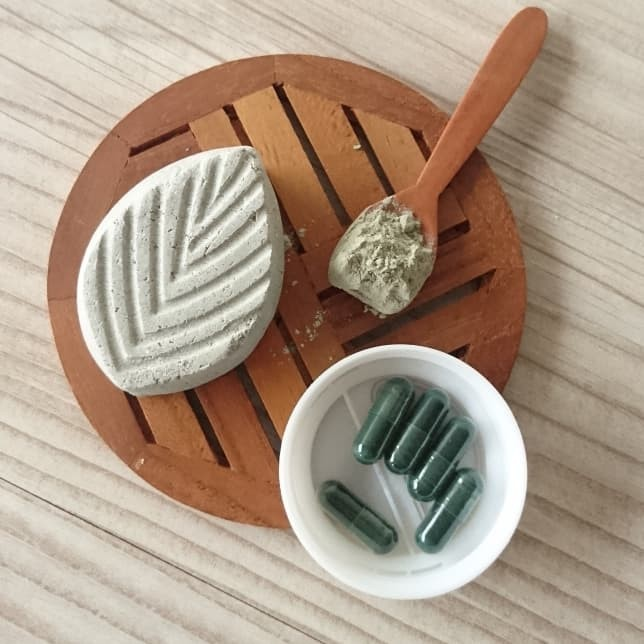 Foto Produk COME GREEN CLAY BAR - Masker Padat Spirulina dari LUVU NATURAL