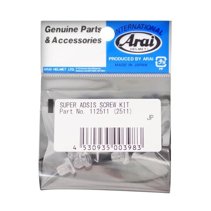 Foto Produk Arai Super Adsis Screw Kit RX7X Helm Full Face Original [2511] dari Arai Indonesia