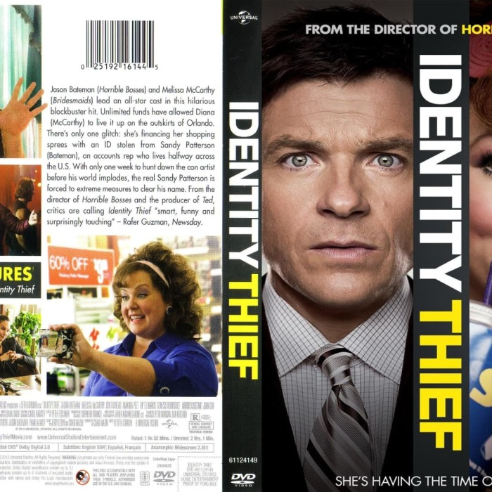 Jual Film Dvd Identity Thief 2013 Movie Collection Film Koleksi Jakarta Barat M Collector Tokopedia