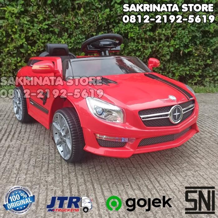 Foto Produk Mainan Anak Mobil Aki Murah PMB Moraine M-5688 Speaker Bluetooth dari sakrinatastore
