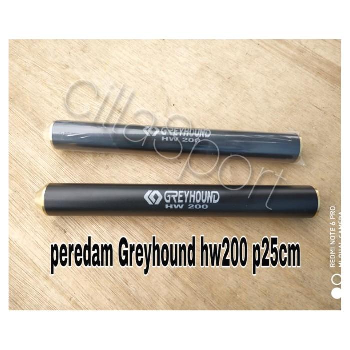 Foto Produk Peredam Greyhound HW 200 Drat Kuningan dari cillaSport