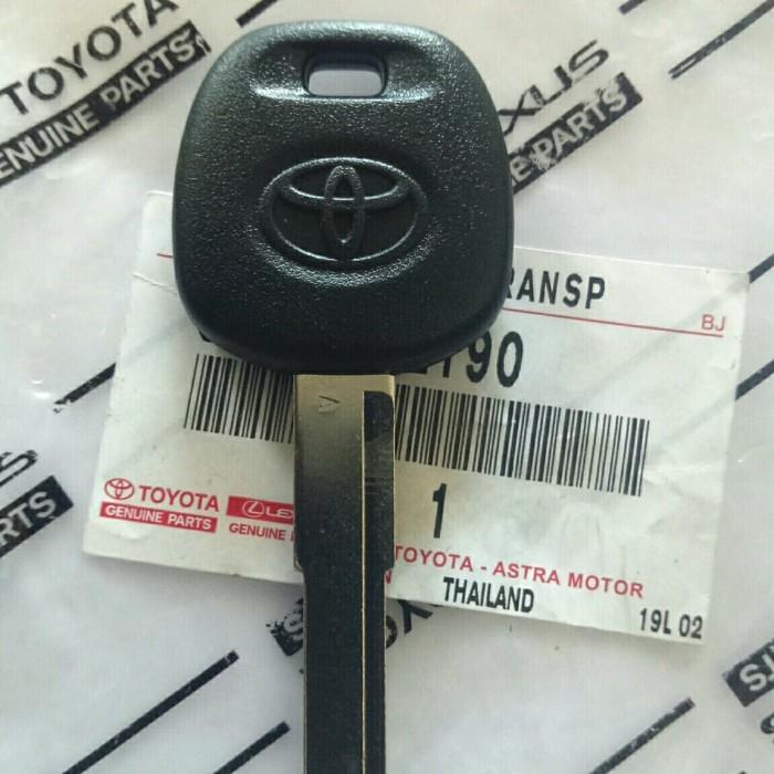 Jual Original Kunci Immobilizer Manual Toyota Calya Kota Surabaya Jual Kunci Remote Mobil Tokopedia