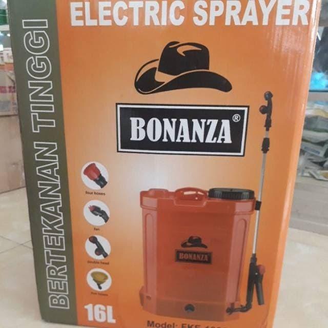 Foto Produk Electric sprayer / tanki elektrik BONANZA 16L / semprot disinfektan dari PILAR TELATEN