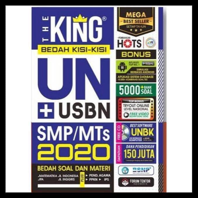 Jual Banting Harga Buku Un Smp The King Bedah Kisi Kisi Un Smp Mts 2020 Jakarta Timur Alba Gardner Tokopedia