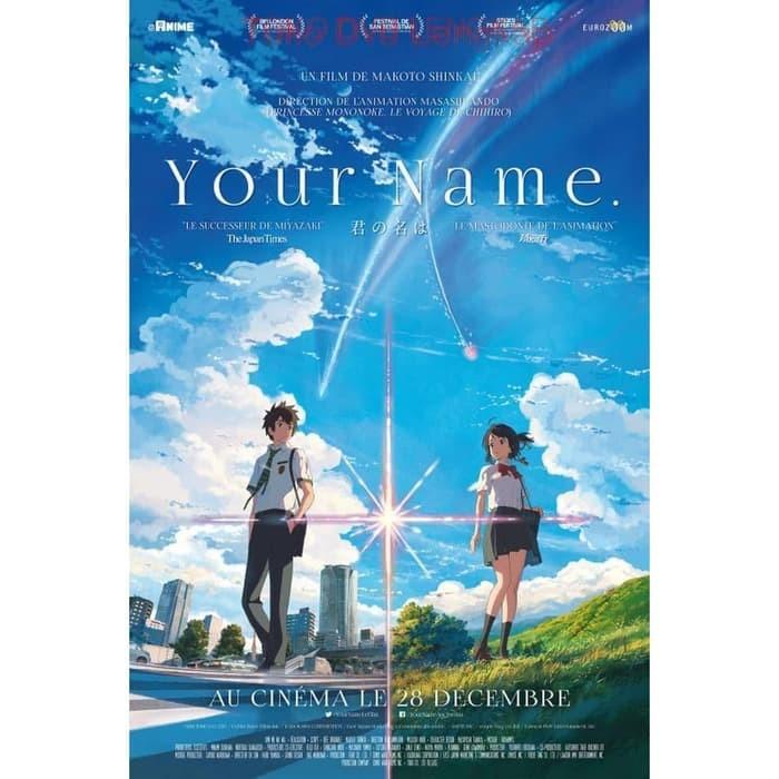 Jual Film Dvd Your Name 2016 Kota Sukabumi Junaarc Design Service Tokopedia