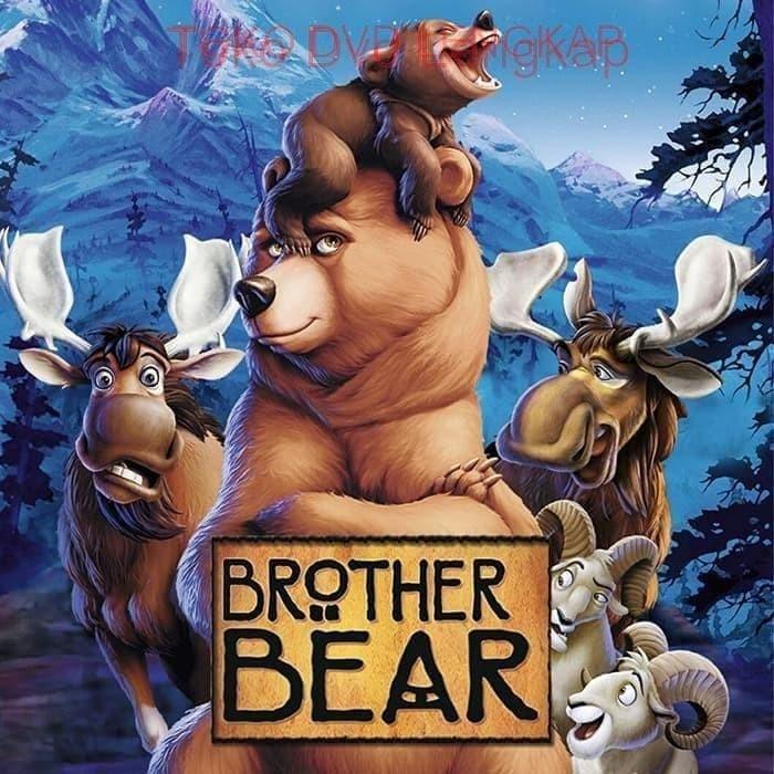 Jual Film Dvd Brother Bear 2003 Kota Sukabumi Junaarc Design Service Tokopedia