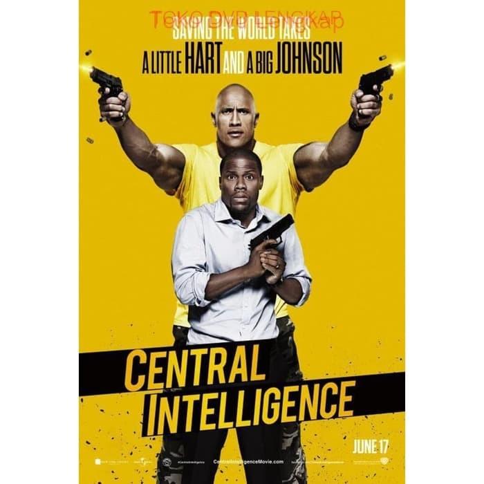 Jual Film Dvd Central Intelligence 2016 Kota Bandung Victory Toserba Tokopedia