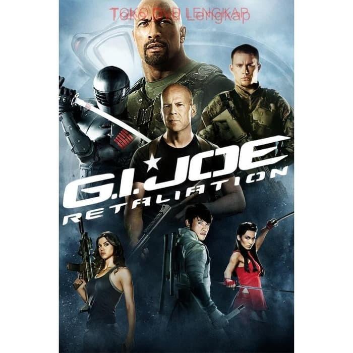 Jual Film Dvd G I Joe Retaliation 2013 Kota Sukabumi Junaarc Design Service Tokopedia