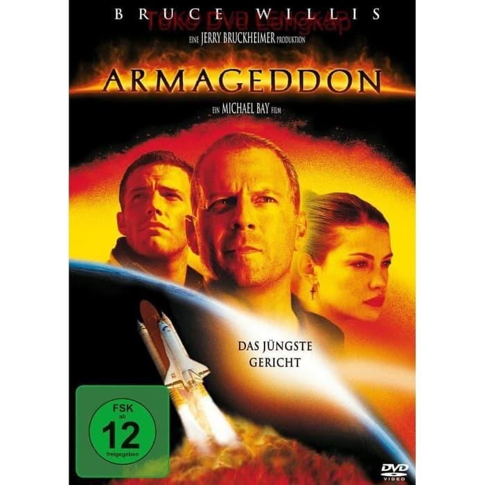 Jual Film Dvd Armageddon 1998 Kota Sukabumi Junaarc Design Service Tokopedia