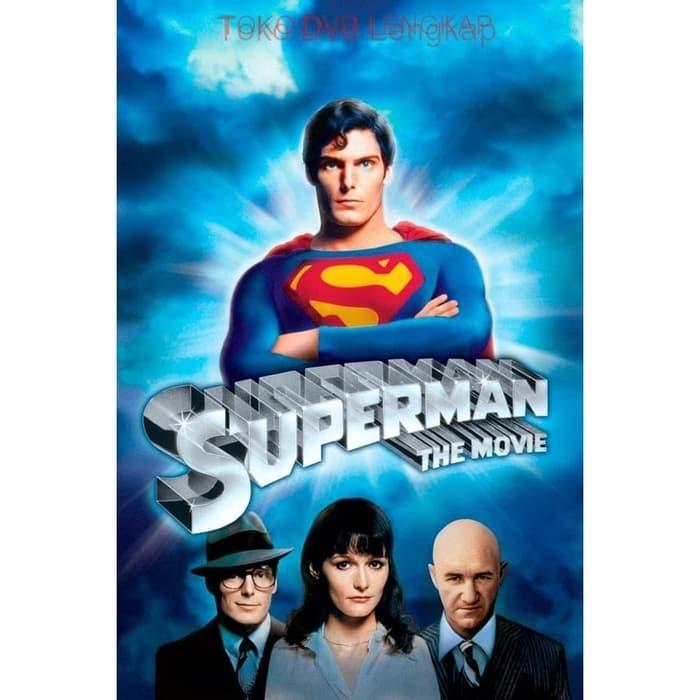 Jual Film Dvd Superman 1978 Kota Sukabumi Junaarc Design Service Tokopedia