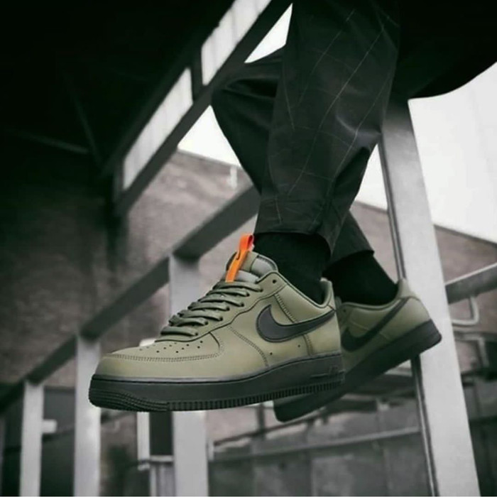 Humo anchura Confrontar  Jual Nike Air force 1 07 medium olive/black satrfish - Jakarta Selatan -  saintluciajkt   Tokopedia