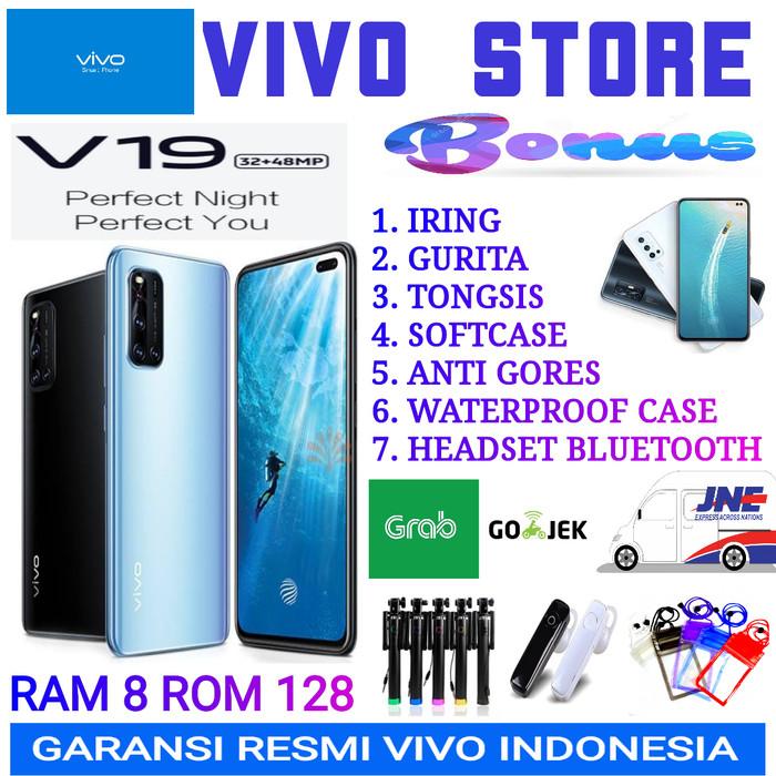 Foto Produk VIVO V19 RAM 8/128 GB GARANSI RESMI VIVO INDONESIA - blue no bonus dari VIVO ST0RE