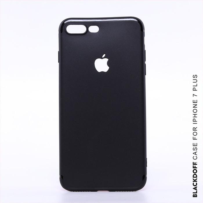 Foto Produk FOR IPHONE 7 PLUS - ORIGINAL BLACKDOFF SLIM CASE SOFTCASE SILICON - Hitam dari LauraStore