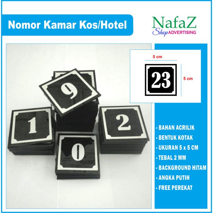 Jual Nomor Kamar Nomor Acrilik Kab Rembang Tukang Stempel 23 Tokopedia