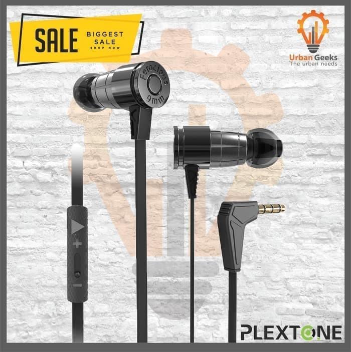 Foto Produk Plextone G25 Gaming Earphone Noise Canceling Stereo Headset Original - Hijau muda dari Urban Geeks