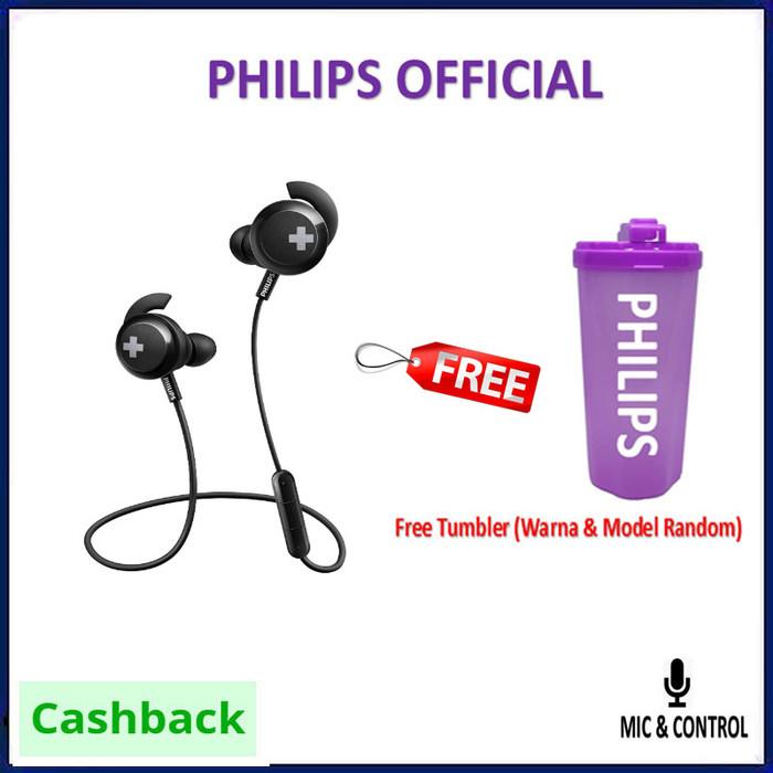 Jual Philips Shb4305 Bass Wireless Bluetooth Headphones With Mic Shb 4305 Hitamfreetumble Jakarta Selatan Original It Shop Tokopedia