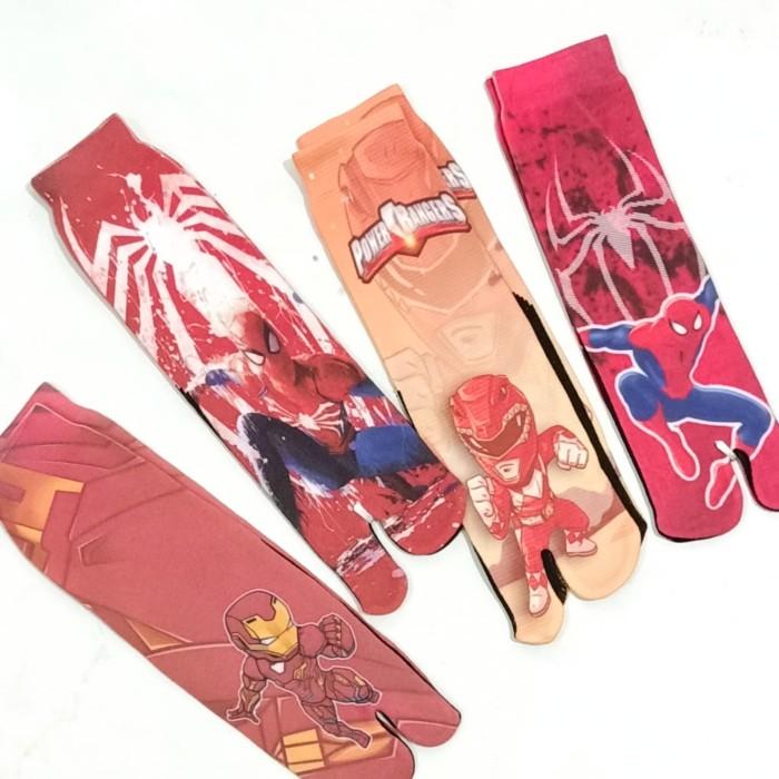 Jual Kaos Kaki Jempol Anak Laki Printing Motif Karakter Cowo Kartun Lucu Spiderman Kab Bekasi Erro Shop Tokopedia