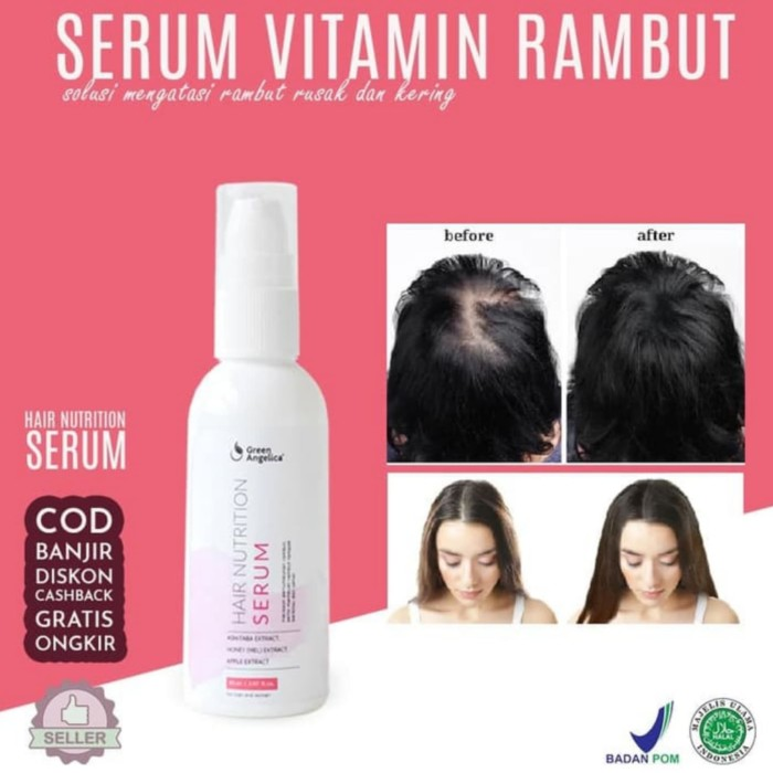 Jual Hair Nutrition Serum Penyubur Rambut Alami Green Angelica Kota Surabaya Greenangelicacosmetic Tokopedia