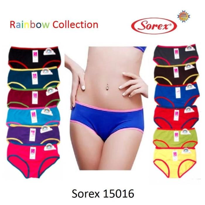 Foto Produk Celana Dalam Wanita Sorex 15016 CD Rainbow Colection Original Termurah - M dari Prema Store Bandung