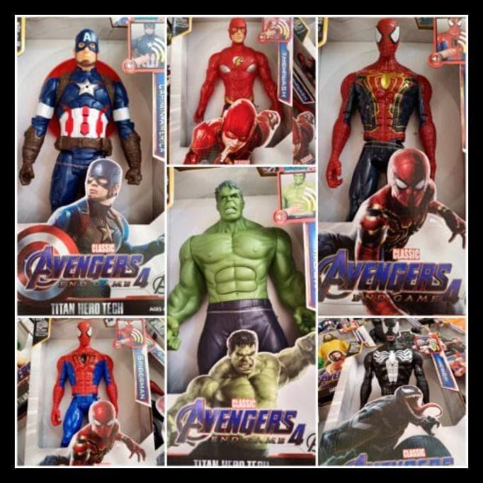 Jual Promo Action Figure Avengers 4 End Game Spiderman Thor Hulk Thanos Jakarta Timur Bonnieowen Tokopedia