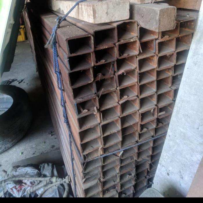 Jual holo Hollow 4x6 2mm 40x60 besi - Jakarta Barat