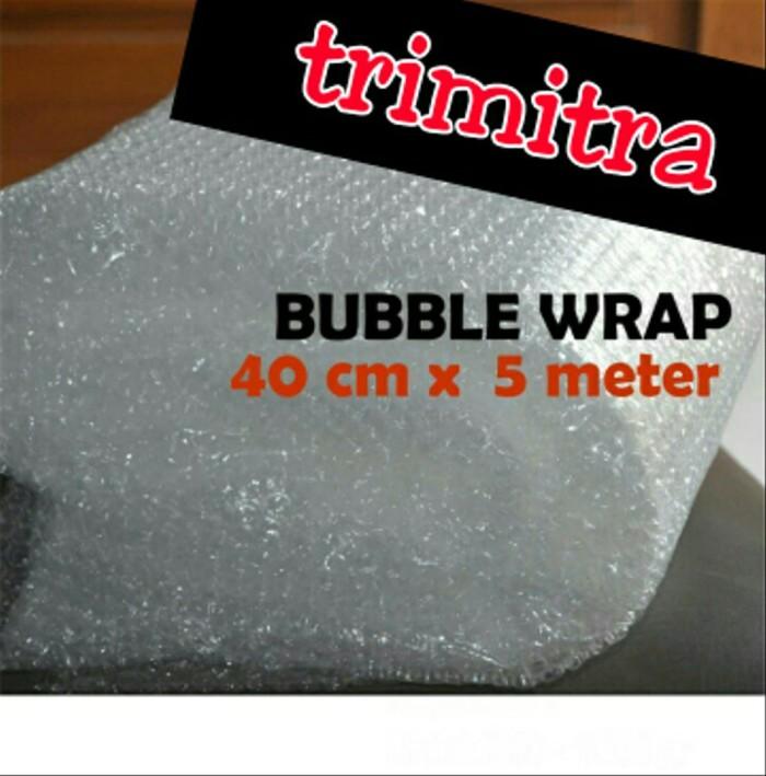 Foto Produk Plastik Bubble Wrap Gelembung Potongan Lembaran 40 cm x 5 meter dari sudrastore