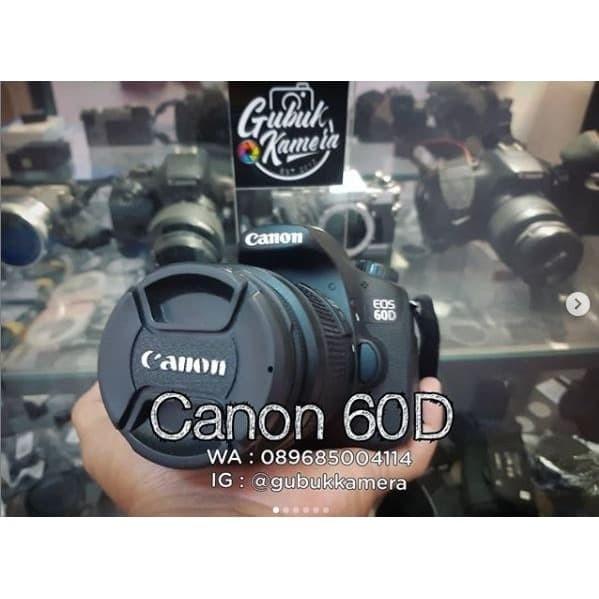 Foto Produk Canon 60D kit 18-55 IS II (MURAH) dari GubukKamera