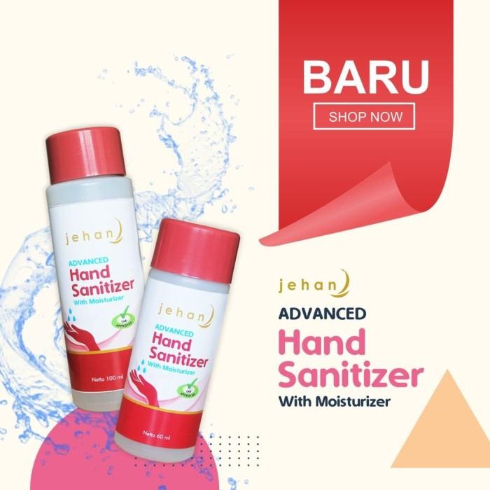 Foto Produk Hand Sanitizer 60ml & 100ml / Hand Sanitizer Jehan - 60ml dari CV Herbal House Lestari
