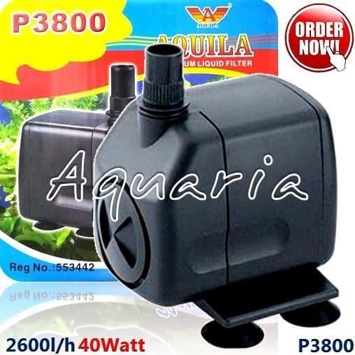 Jual Aquila P-3800 Pompa Air Aquarium & Kolam Submersible ...