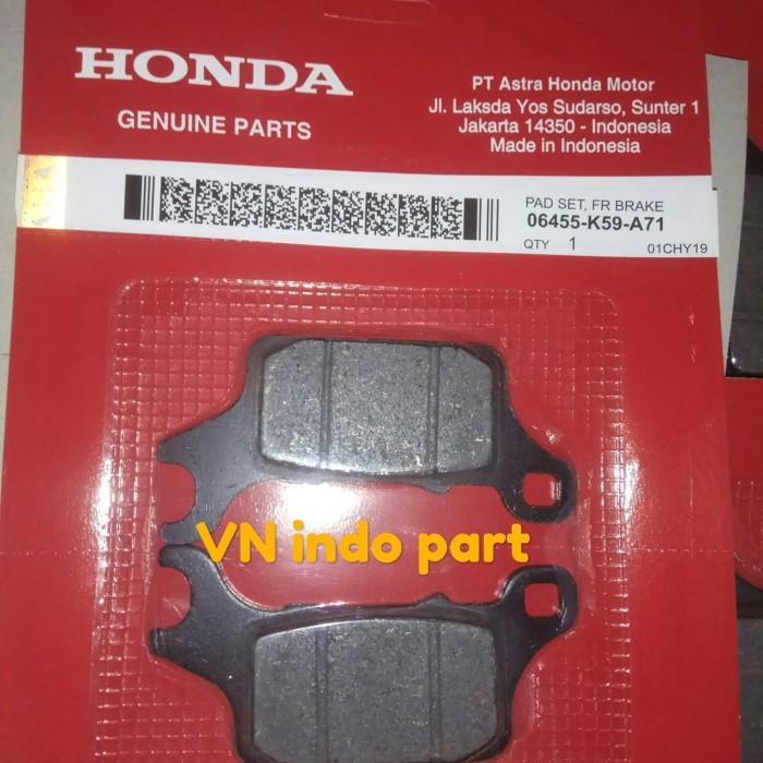 Foto Produk discpad/kanvas rem dpn Vario 150 new dari VN part