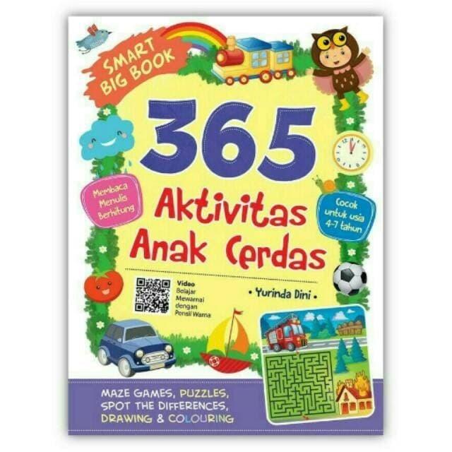 Foto Produk Smart Big Book 365 Aktivitas Anak Cerdas - Yurinda Dini - Cikal Aksara dari Republik Fiksi