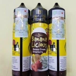 Foto Produk Liquid Bananalicious 60ml 3MG/6MG dari KLAVA