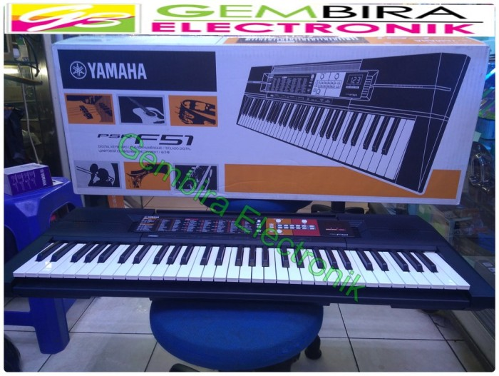 Jual Keyboard Portable Yamaha F51 Orgen Tunggal Piano Digita Kota Yogyakarta Idia Tokopedia