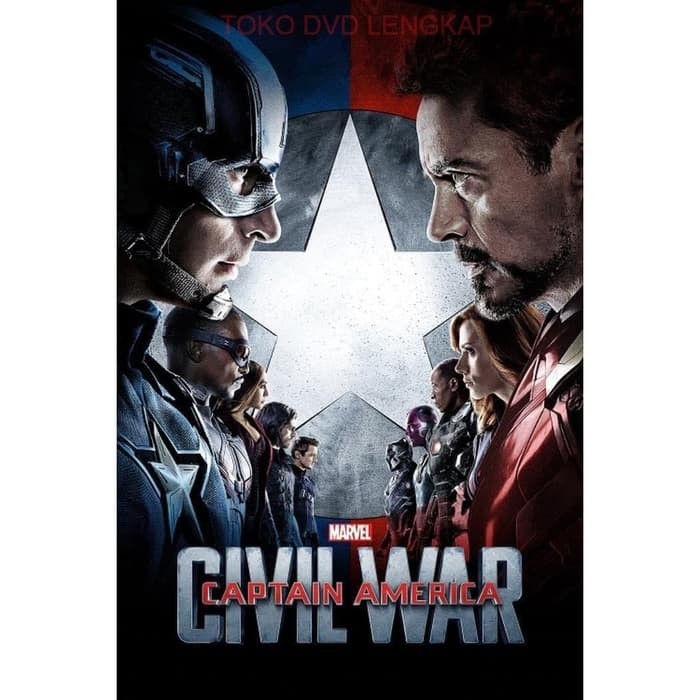 Jual Film Dvd Captain America Civil War 2016 Jakarta Utara Snepshop Tokopedia