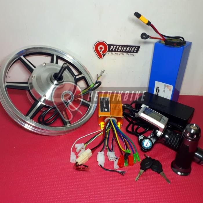 Jual Kit Set Dinamo Sepeda Listrik 14 Inch Dengan Battery Ii Petrikbike Kota Bekasi Petrikbike Tokopedia