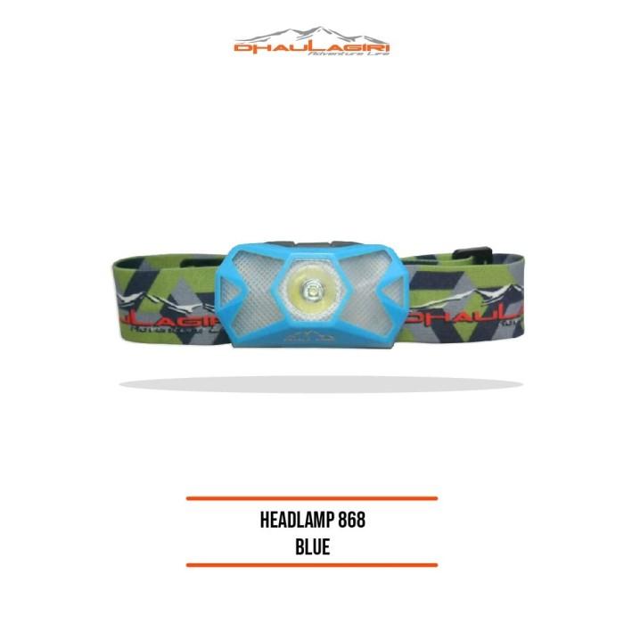 Foto Produk Dhaulagiri Headlamp HL-868 Blue dari Dhaulagiri official
