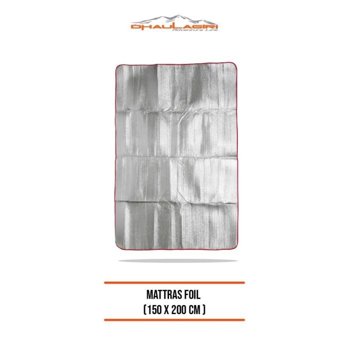 Foto Produk dhaulagiri foil alumunium matras ( 150 x 200 ) dari Dhaulagiri official