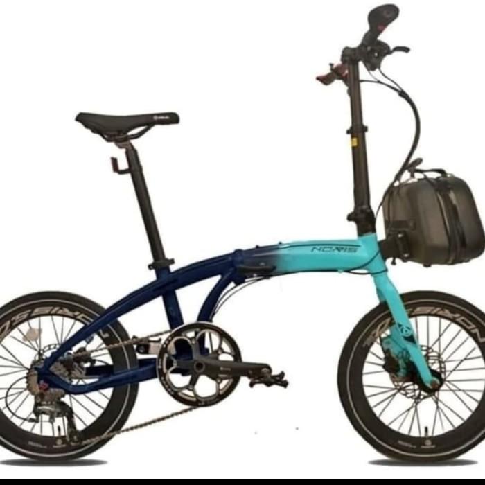 Jual Sepeda lipat pacific noris 5.0 new 10 speed ukuran 20
