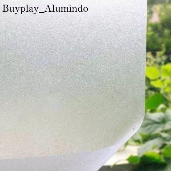 Foto Produk Sticker / Stiker Kaca Film Sandblast Sunblast motif 9022-1 Polos Bura dari buyplay_Alumindo