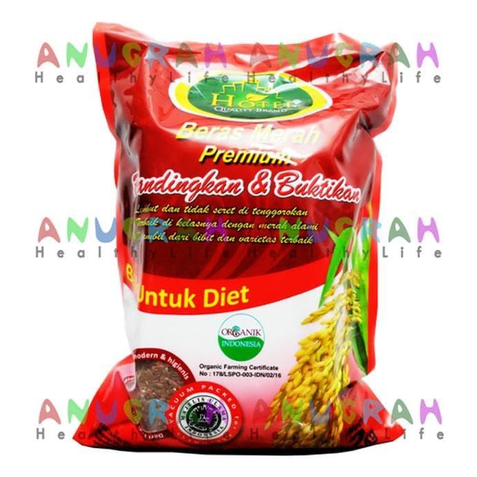Jual Promo Beras Diabetes Bebas Gula Beras Merah Premium Merek Hotel Jakarta Barat Noum Store Tokopedia