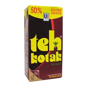 jual teh kotak ultra teh kotak extra 50 tpk 200ml kota bandung minimarket marra tokopedia tokopedia