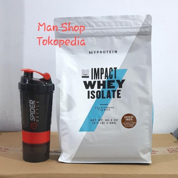 Foto Produk My Protein Impact Whey Protein Isolate 2.5kg 2.5 kg 2,5 kg Myprotein dari Man Shop jakarta
