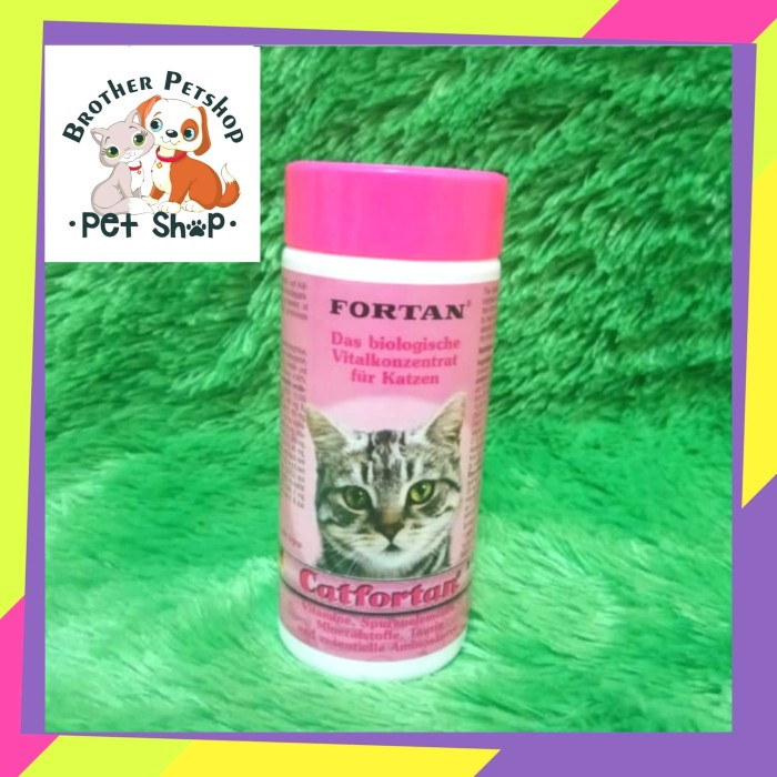 Jual Cat Fortan Ecer Catfortan Isi 1tablet Multivitamin Kucing Vitamin Kota Depok Brother Petshop Tokopedia