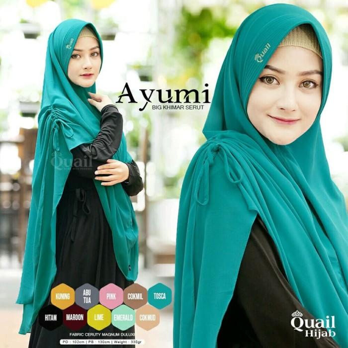 Jual Jilbab Ayumi By Quail Hijab Kab Sleman Grosir Jilbab Zawa Hijab Tokopedia