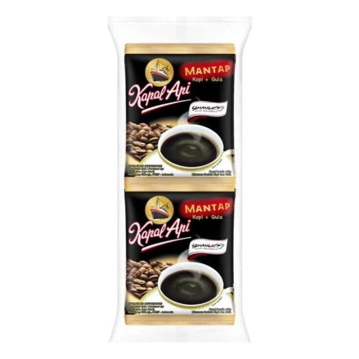 Foto Produk Kapal api mantap kopi gula 10_Sx25g dari Bilka Supermarket