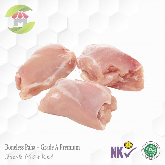 Foto Produk Boneless Paha Ayam Fillet 1kg Filet paha ayam dari Fresh Market Tangsel