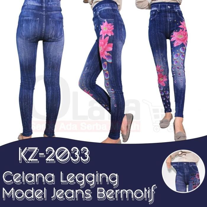Jual Celana Legging Levis Panjang Wanita Bahan Denim Kz 2033 Jakarta Barat Tokoagungwibowo Tokopedia