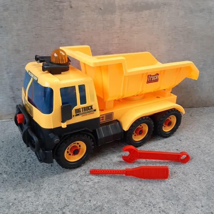 Foto Produk Mainan Truk Pasir Jumbo Bonus Obeng Kunci Pas - Dump Truck Besar Anak dari ZhafiraCorps