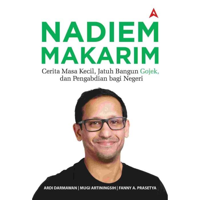 Foto Produk Nadiem Makarim - Ardi Darmawan dari ombotak