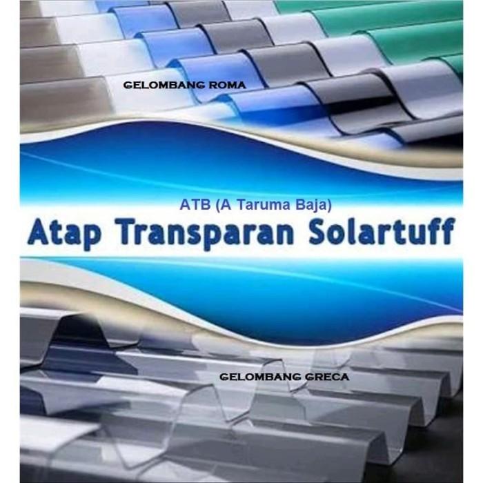 Jual Solartuff Atap Transparan Gelombang Roma Dan Greca Kab